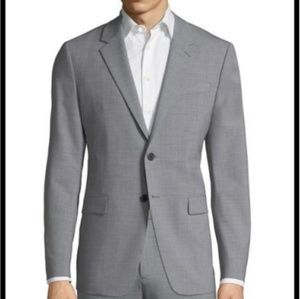 Men's Theory Sport Jacket/Blazer Gray 38R 2-button